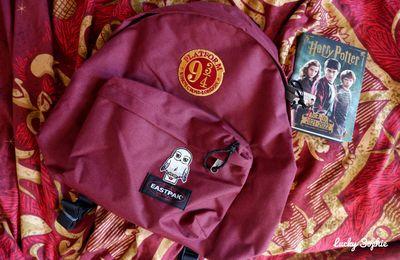 DIY sac Eastpak Harry Potter