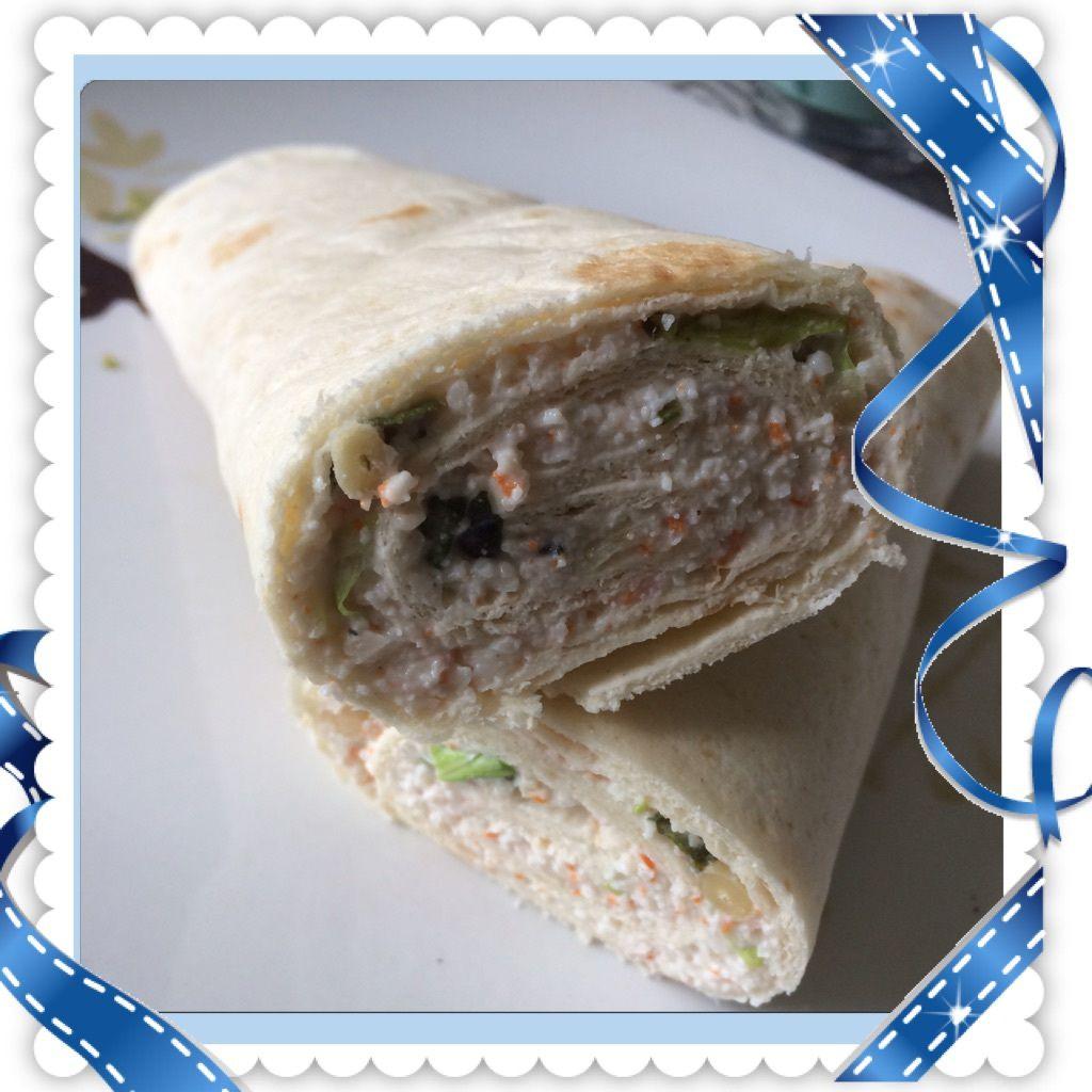Wrap Jambon St Morêt