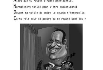 FRANCOIS HOLLANDE SUPERMAN