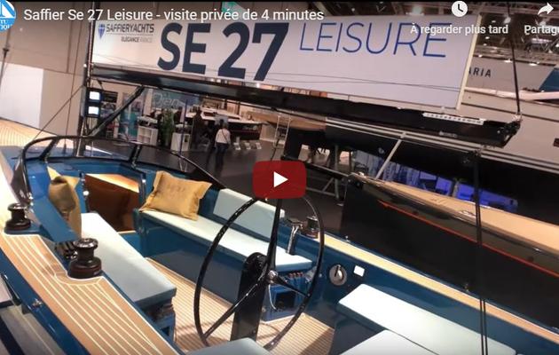 Saffier Se 27 Leisure – Première visite privée d'un voilier dayboat au charme exceptionnel