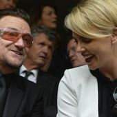 Bono et Charlize Theron -Johannesbourg -10/12/2013 - U2 BLOG