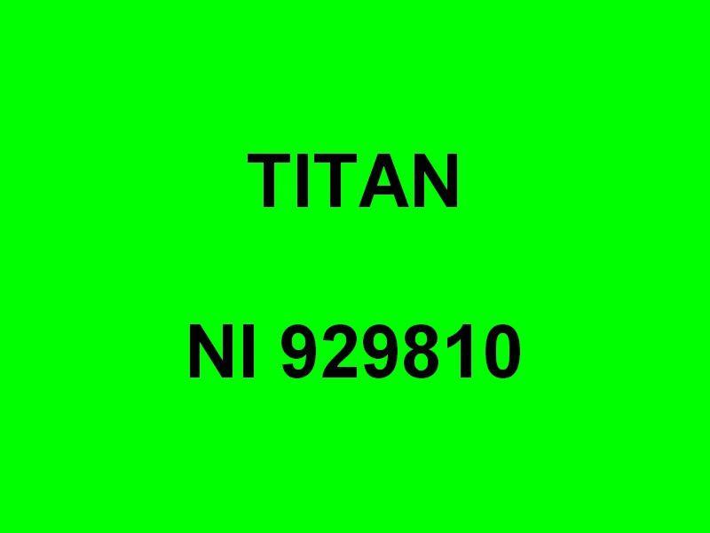 TITAN ,NI 929810 ,à quai dans le port de Port de Bouc  le 19 mars 2015
