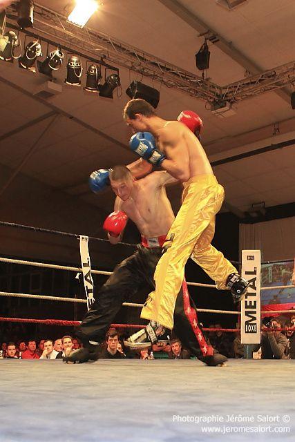 Boxe in défi XIII Tournoi des -76Kg (3x2) Yannick TAMAS vs Uros ZDRAVKOVIC