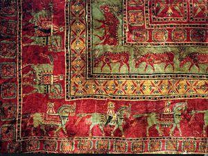 Les Scythes et leurs tapis, il y a plus de 2200 ans !