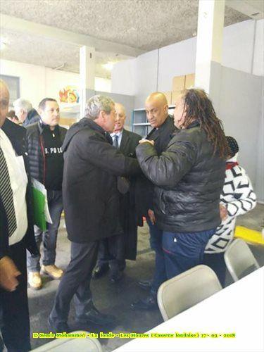 Le préfet Dominique Ceaux à la rencontre de la communauté harkie de La Londe-Les-Maures (83)