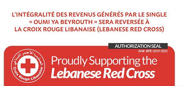 Yara Lapidus - Oumi Ya Beyrouth bernieshoot single croix rouge liban