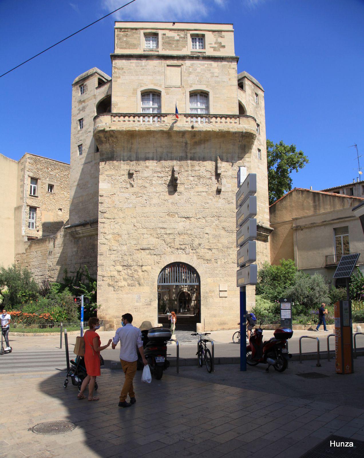 Montpellier, tour de la Babote