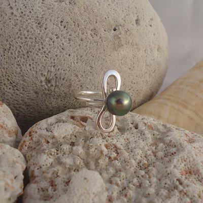 bijoux en argent et perles de Tahiti