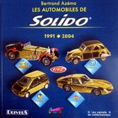 LIVRE LES AUTOMOBILES SOLIDO BERTRAND AZEMA - car-collector.net