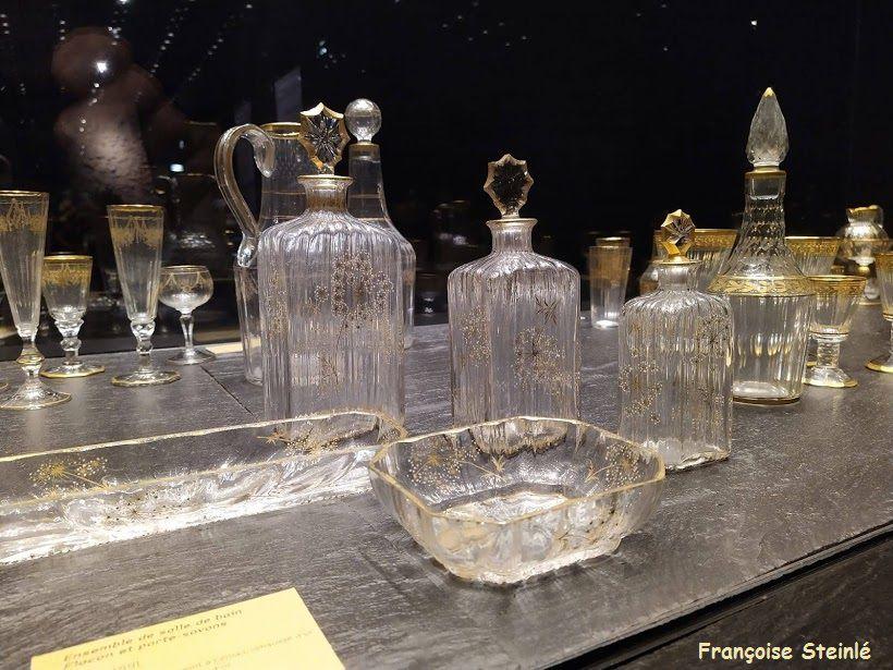 La fontaine de Aarau, Nancy, la cristallerie Daum