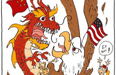 L'aigle, le dragon et la toute petite fille