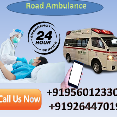 Hire World  Best Road Ambulance Service in Patna and Ranchi by Medivic Ambulance