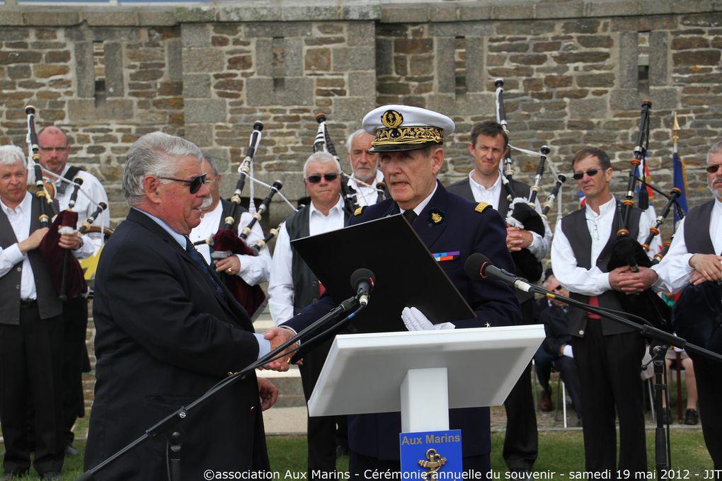 Samedi 19 mai 2012-cérémonie annuelle du souvenir à la mémoire des marins disparus entrant dans le cadre des journées de la mémoire maritime - 3ème partie
