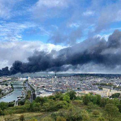 Lubrizol : peur sur la ville de Rouen