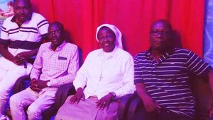 """EGYPT: THE PANAFRICAN MEDIA GROUP """"CHARILOGONE"""" HONORED BY THE VISIT OF TWO RELIGIOUS!"""