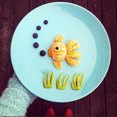 Food Art by Idafrosk