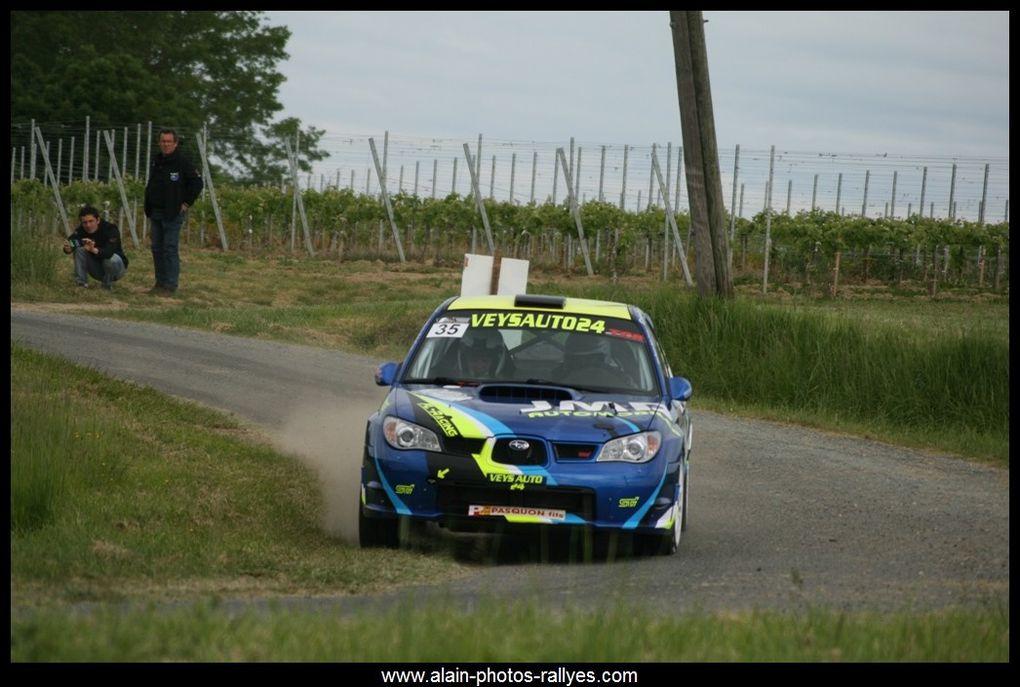 Rallye national comptant pour la coupe de France des rallyes 2016 et pour le comté d'Aquitaine.