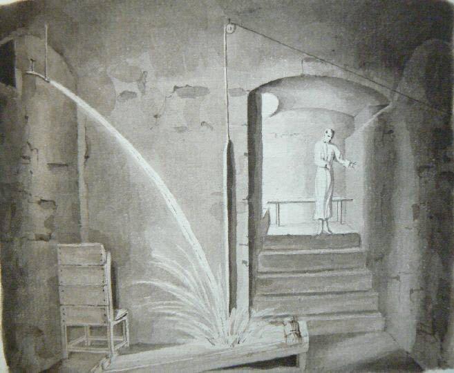 Caveau des douches à Vichy