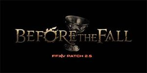 Jeux video: Final Fantasy XIV : A Realm Reborn Patch 2.5 -  Before The Fall