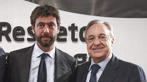 Fiorentino Perez et Andrea Agnelli en assassins du football.