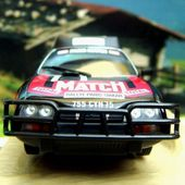 FASCICULE N°36 CITROEN CX 2400 GTI PARIS DAKAR 1981 NOREV 1/43. - car-collector.net