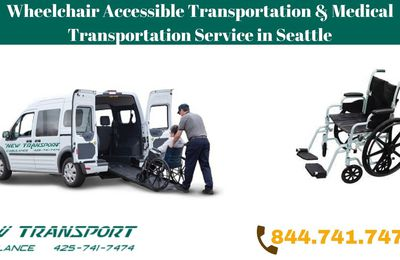 Wheelchair Accessible Transportation & Medical Transportation Service in Seattle