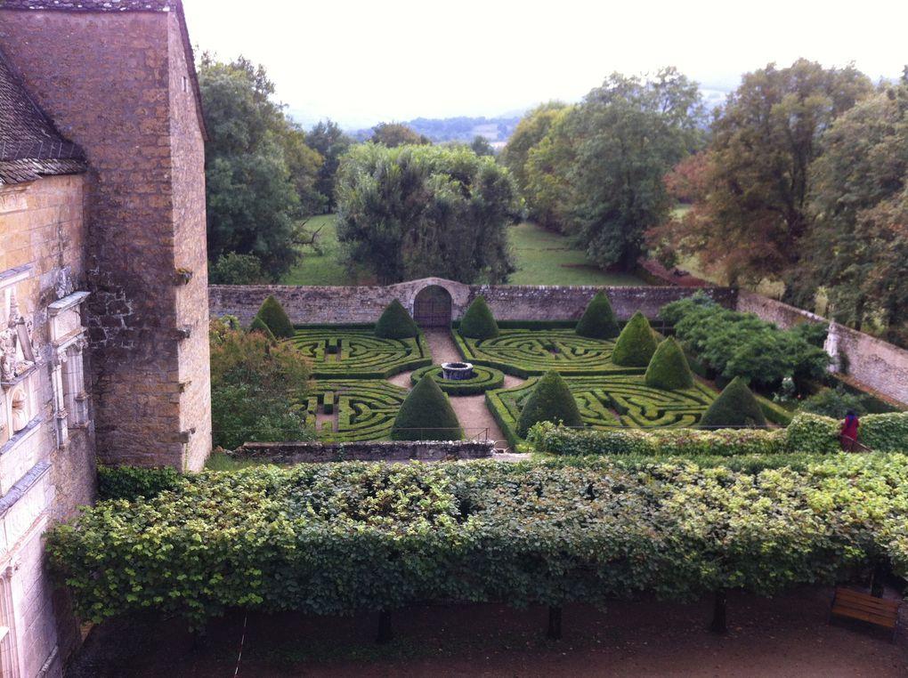 Jardin du Château de Montal - Quercy