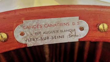 Restauration d'un canoë bois DS par Jean-Marc