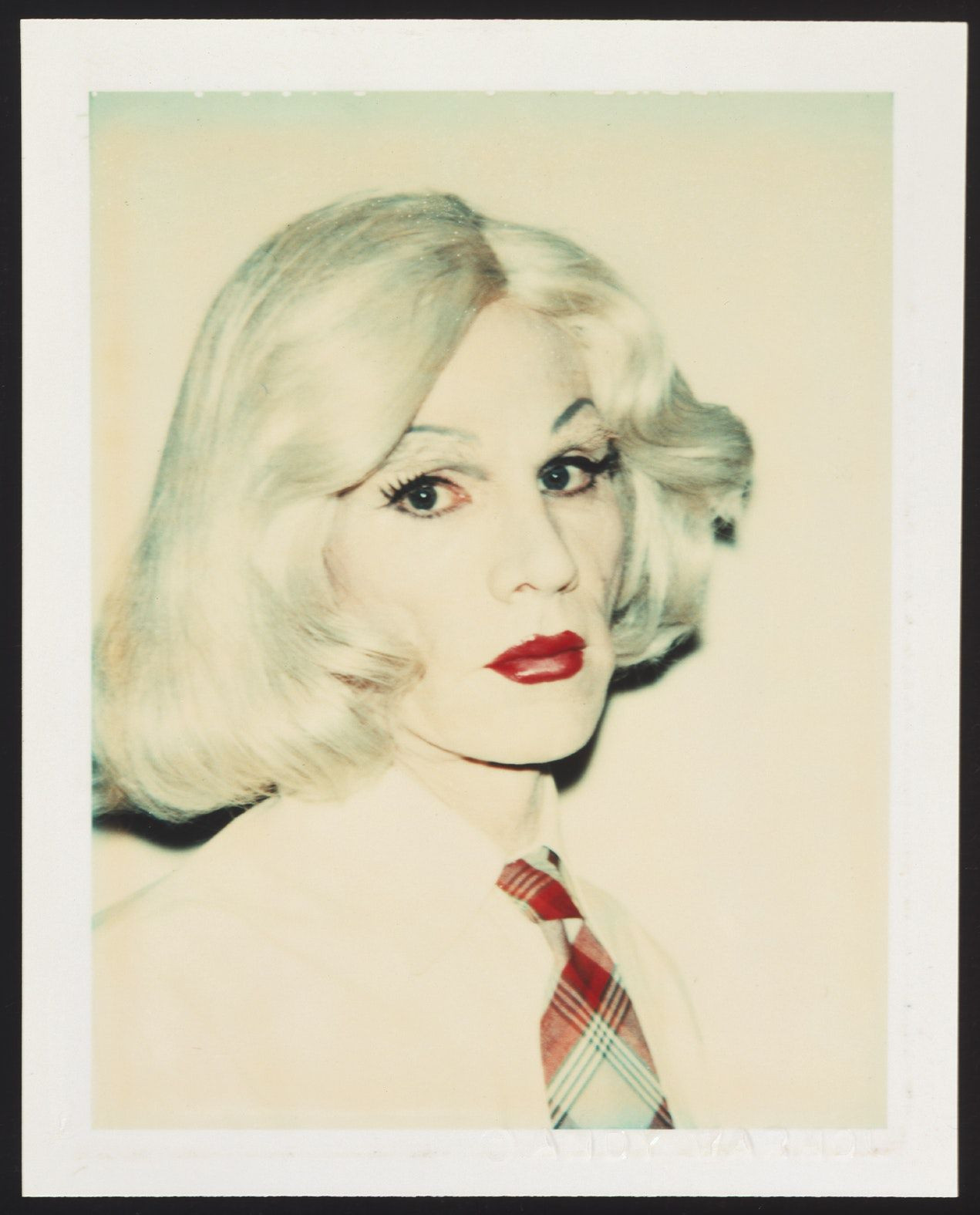 """Andy Warhol, """"Portrait as a drag"""",© The Andy Warhol Foundation for the Visual Arts / ARS, New York. Credit : Butler Family Fund, 2003."""
