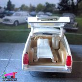 PEUGEOT 504 BREAK AMBULANCE MUNICIPALE SOLIDO 1/43 - car-collector.net