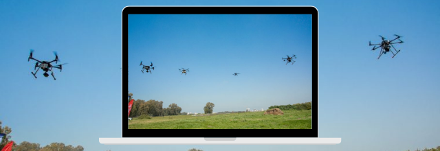 Airwayz AI-based systems to support world's first test of multiple drone fleets operating in the same urban airspace