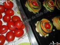 Fleurs de carottes et courgettes façon bolognaise