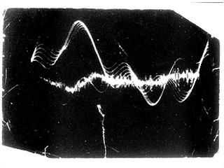 Oscillograph on Beethoven @ Wolf Vostell. 1959-63