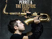"artwork album Guillaume Perret & Electric Epic ""Open Me"""