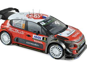 1:18 Norev présente 3 Citroën 3C WRC !