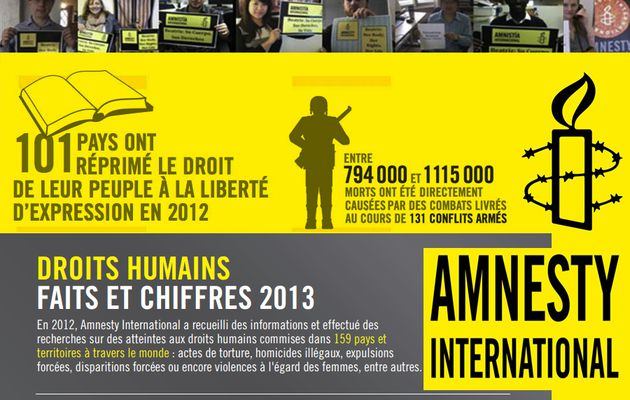 Amnesty International, rapport annuel 2013