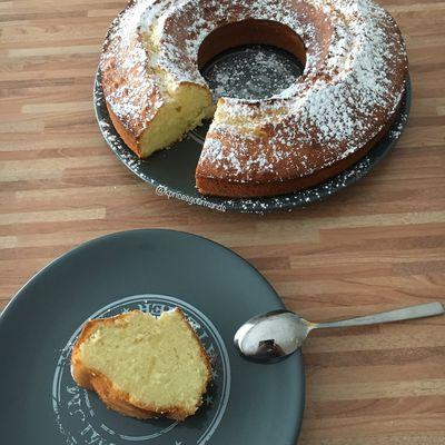 Gâteau au Citron et à la Crème Fraîche