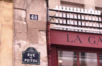 Rue de Poitou - Rue Charlot 3eme