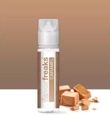 Test - Eliquide - Caramel gamme Flavor de chez Freaks