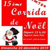 Le Pouliguen - 15ème Corrida de Noël - 22 décembre 2019 - Ensemble en presqu'ile de Guérande