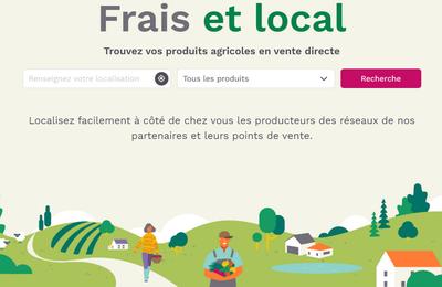 Frais et Local vous aide àtrouver les producteurs de proximité