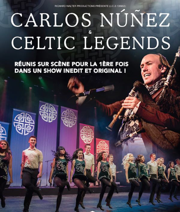 """Carlos Núñez & Celtic Legends "" à l'Olympia"