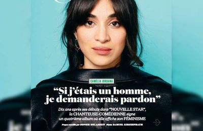 Quand Camelia Jordana nous est présentée par le …couple Fabrice Luchini/Laurent Gerra, il est permis de rire.