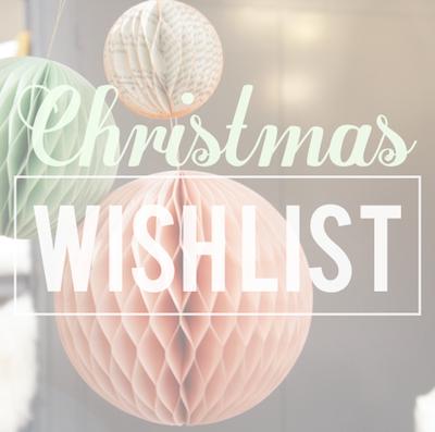[Wishlist n°2] Anniv + Noël #S ♥