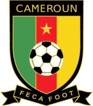 Imágenes de los escudos de la selección de fútbol de Camerún.- El Muni.