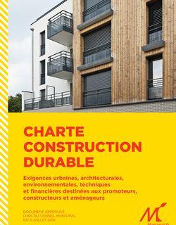 Chartes locales de la construction : Nous ne nous laisserons pas intimider par les menaces de la Fédération des Promoteurs Immobiliers