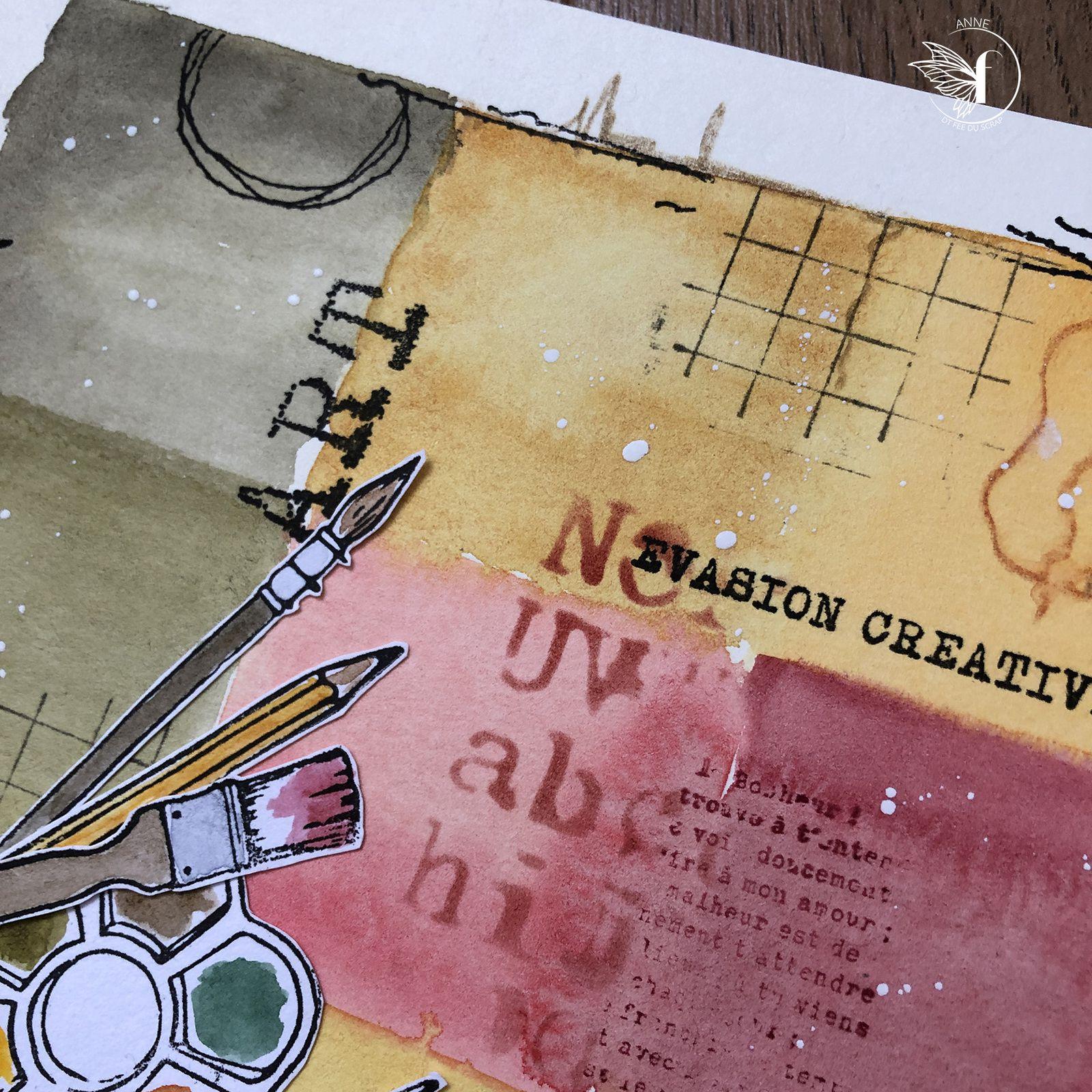 Anne : un peu d'Art Journal ...