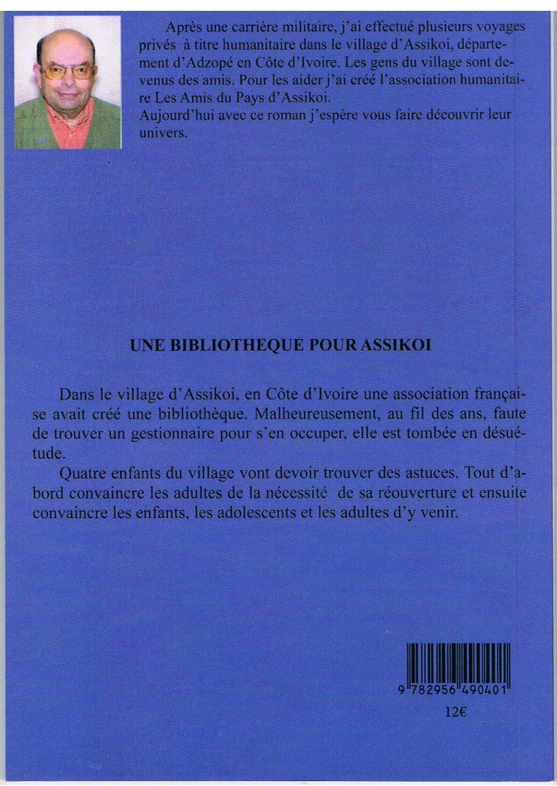 Une Bibliothèque pour Assikoi de Robert Mondange