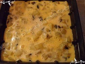 Omelette pommes de terre / oseille et mozzarella