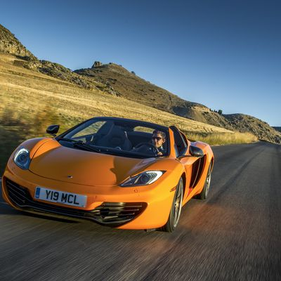 MP4-12C Spider first drives